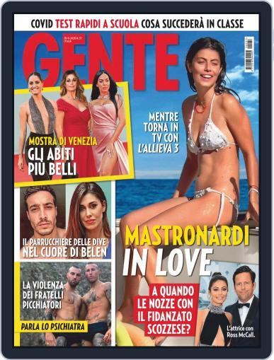 Gente September 19th, 2020 Digital Back Issue Cover