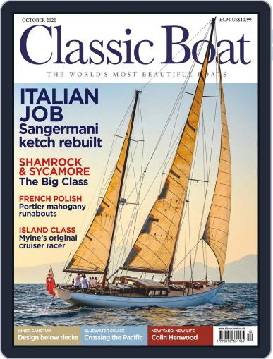 Classic Boat October 1st, 2020 Digital Back Issue Cover