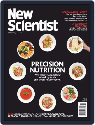 New Scientist International Edition September 12th, 2020 Digital Back Issue Cover