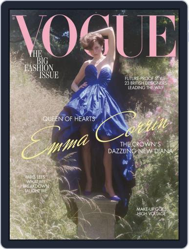 British Vogue (Digital) October 1st, 2020 Issue Cover