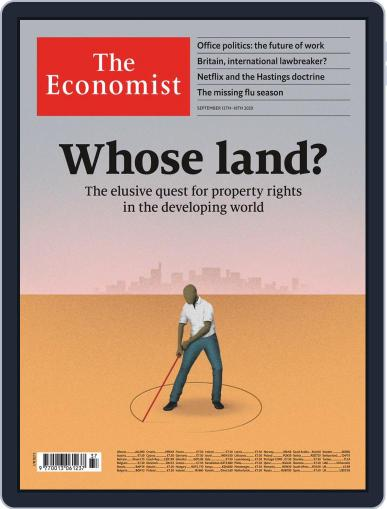 The Economist Middle East and Africa edition (Digital) September 12th, 2020 Issue Cover