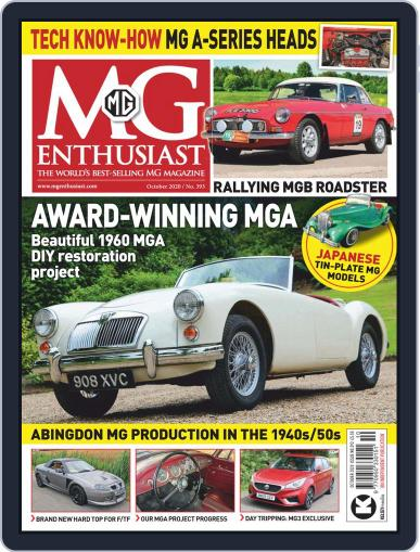 MG Enthusiast October 1st, 2020 Digital Back Issue Cover