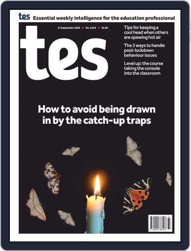 Tes September 11th, 2020 Digital Back Issue Cover