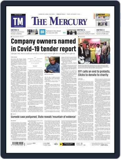 Mercury (Digital) September 11th, 2020 Issue Cover