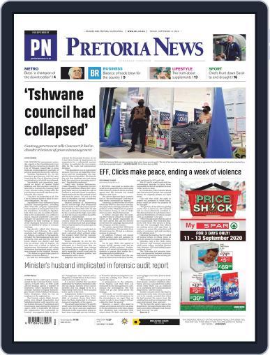Pretoria News September 11th, 2020 Digital Back Issue Cover