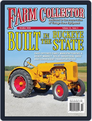 Farm Collector October 1st, 2020 Digital Back Issue Cover