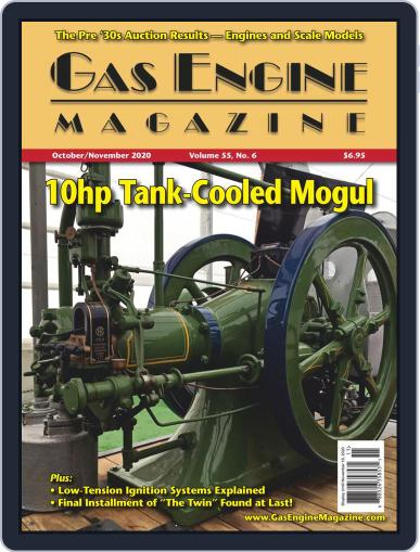 Gas Engine October 1st, 2020 Digital Back Issue Cover