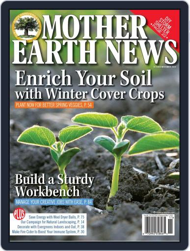 MOTHER EARTH NEWS October 1st, 2020 Digital Back Issue Cover