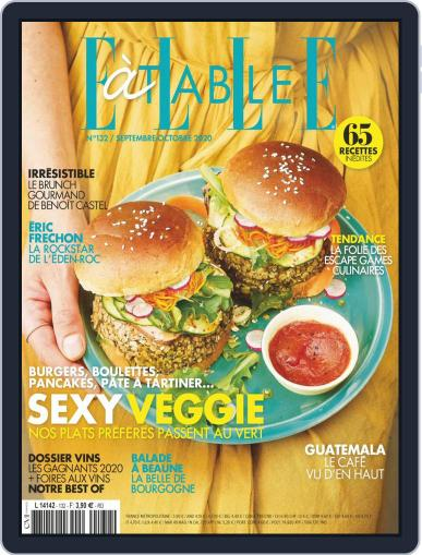 ELLE à Table September 1st, 2020 Digital Back Issue Cover
