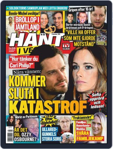 Hänt i Veckan September 9th, 2020 Digital Back Issue Cover