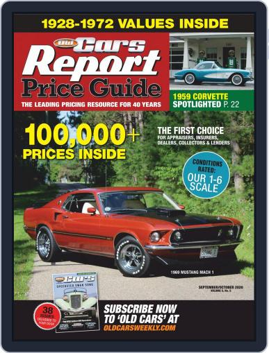 Old Cars Report Price Guide (Digital) September 1st, 2020 Issue Cover