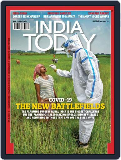 India Today September 21st, 2020 Digital Back Issue Cover