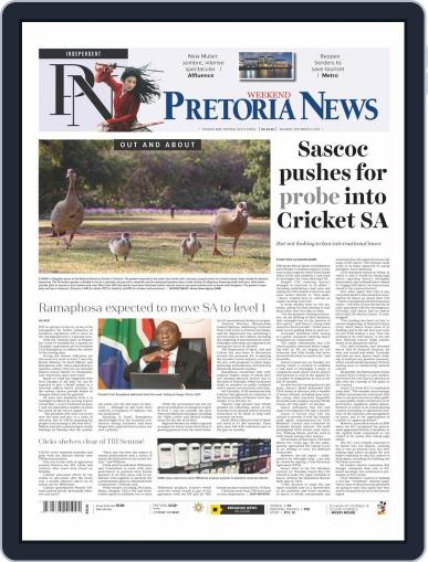Pretoria News Weekend September 12th, 2020 Digital Back Issue Cover