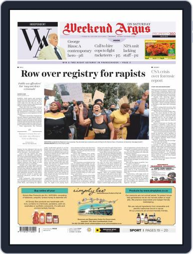 Weekend Argus Saturday September 12th, 2020 Digital Back Issue Cover