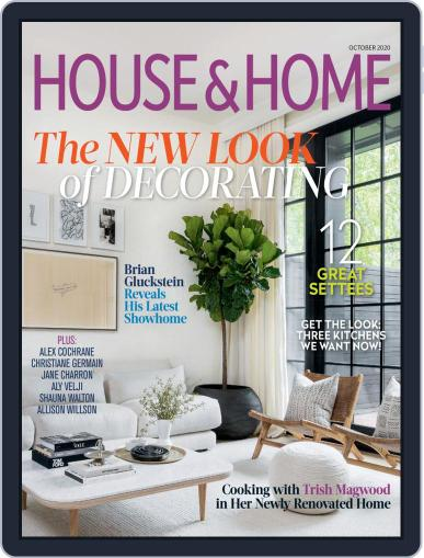 House & Home October 1st, 2020 Digital Back Issue Cover
