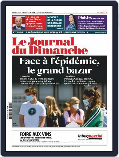 Le Journal du dimanche September 13th, 2020 Digital Back Issue Cover