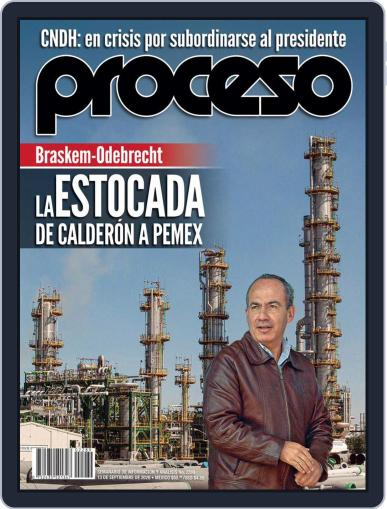 Proceso September 13th, 2020 Digital Back Issue Cover