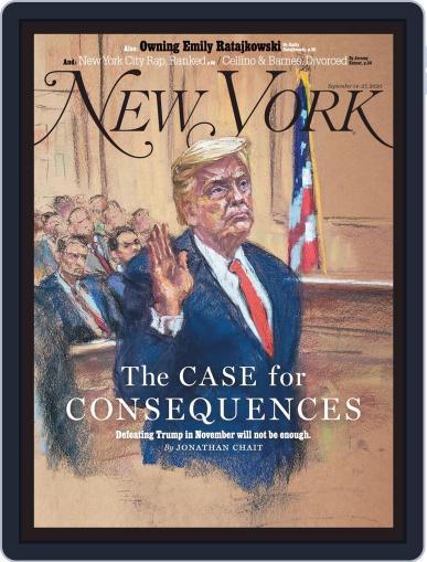 New York September 14th, 2020 Digital Back Issue Cover
