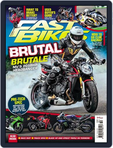 Fast Bikes October 1st, 2020 Digital Back Issue Cover