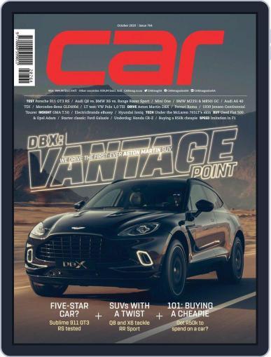 CAR October 1st, 2020 Digital Back Issue Cover