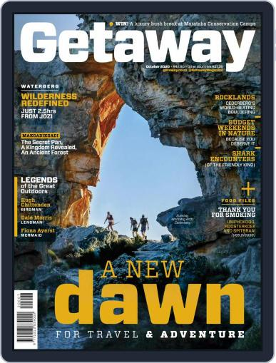 Getaway (Digital) October 1st, 2020 Issue Cover