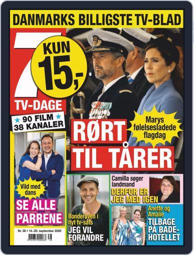 7 TV-Dage (Digital) September 14th, 2020 Issue Cover