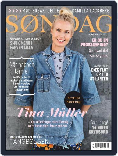 SØNDAG (Digital) September 14th, 2020 Issue Cover