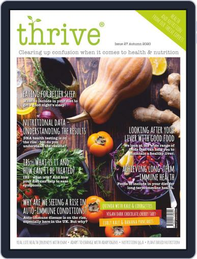 Thrive Health & Nutrition (Digital) September 7th, 2020 Issue Cover