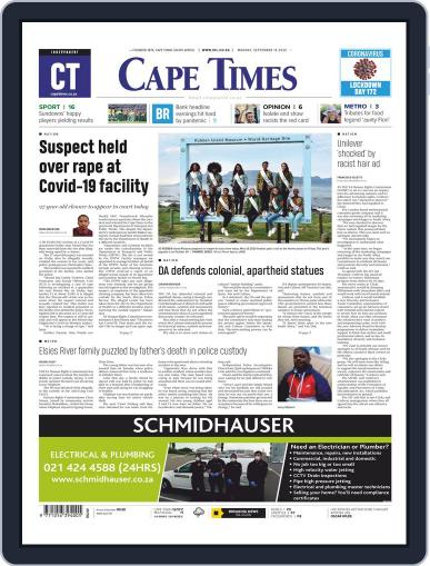 Cape Times September 14th, 2020 Digital Back Issue Cover