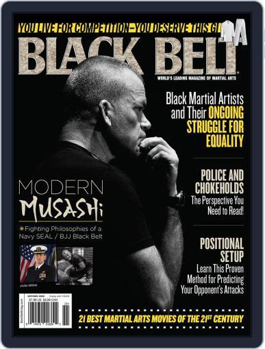 Black Belt October 1st, 2020 Digital Back Issue Cover