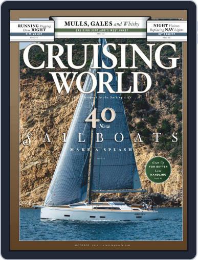 Cruising World October 1st, 2020 Digital Back Issue Cover