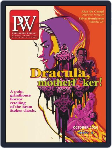 Publishers Weekly September 14th, 2020 Digital Back Issue Cover