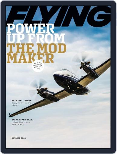 Flying October 1st, 2020 Digital Back Issue Cover