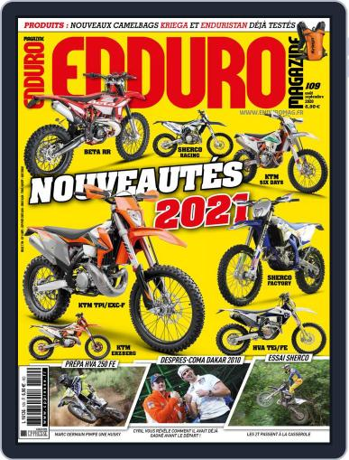 Enduro August 1st, 2020 Digital Back Issue Cover