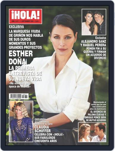Hola (Digital) September 9th, 2020 Issue Cover