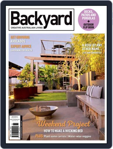 Backyard and Outdoor Living September 1st, 2020 Digital Back Issue Cover