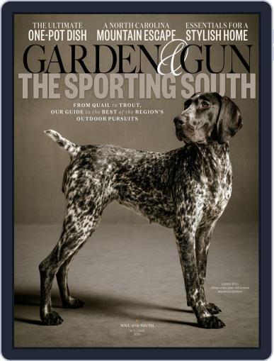 Garden & Gun (Digital) October 1st, 2020 Issue Cover