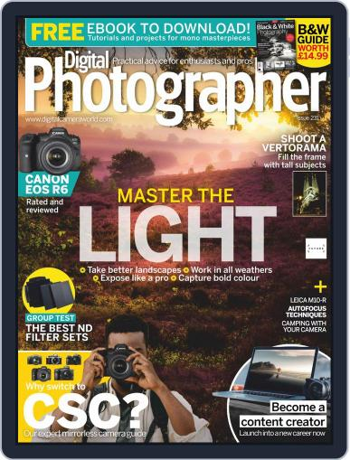 Digital Photographer October 1st, 2020 Issue Cover