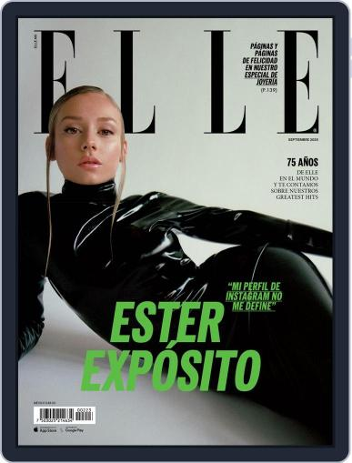 Elle México (Digital) September 1st, 2020 Issue Cover