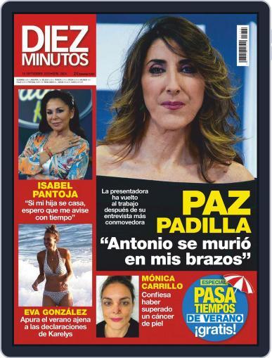 Diez Minutos September 16th, 2020 Digital Back Issue Cover