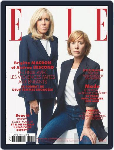 Elle France September 11th, 2020 Digital Back Issue Cover