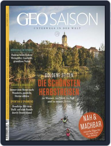GEO Saison (Digital) October 1st, 2020 Issue Cover