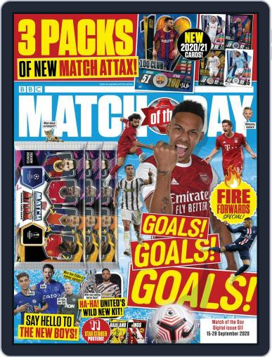 Match Of The Day (Digital) September 15th, 2020 Issue Cover