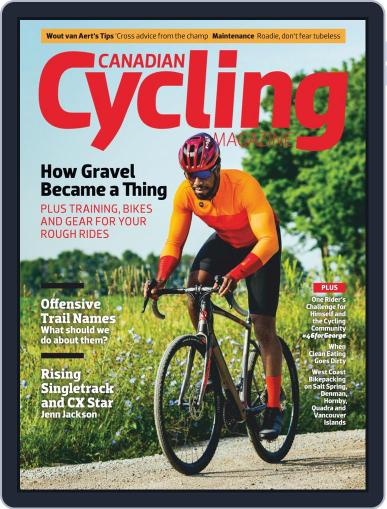 Canadian Cycling (Digital) October 1st, 2020 Issue Cover