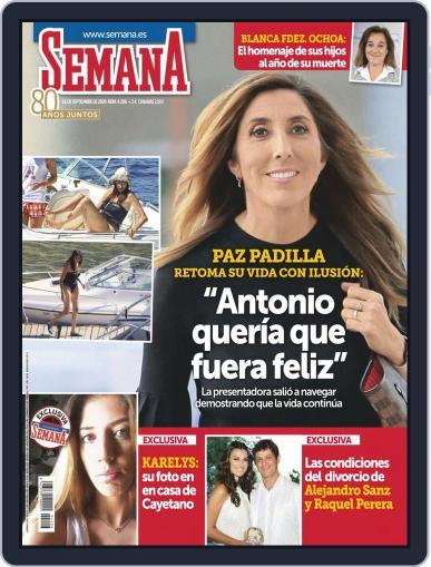 Semana (Digital) September 16th, 2020 Issue Cover