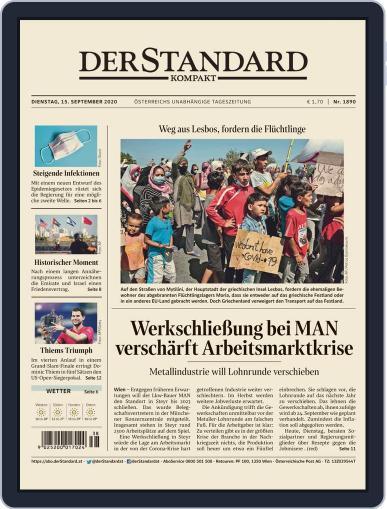 STANDARD Kompakt September 15th, 2020 Digital Back Issue Cover