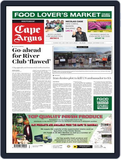 Cape Argus September 15th, 2020 Digital Back Issue Cover