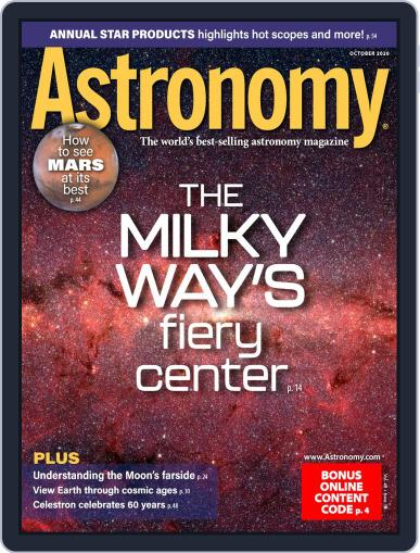 Astronomy October 1st, 2020 Digital Back Issue Cover
