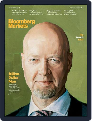 Bloomberg Markets February 1st, 2019 Digital Back Issue Cover