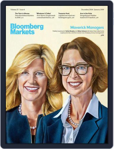 Bloomberg Markets December 1st, 2018 Digital Back Issue Cover